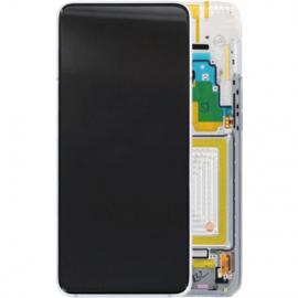 Ecran complet argent original Samsung Galaxy A80