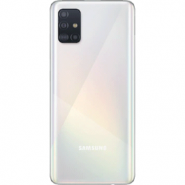 Coque arriere blanche originale Samsung Galaxy A51