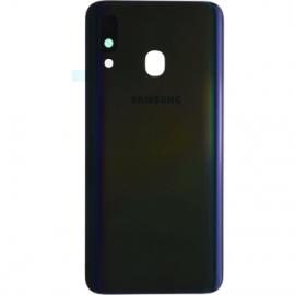 Vitre arriere noire originale Samsung Galaxy A40
