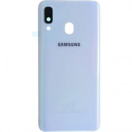 Vitre arriere blanche originale Samsung Galaxy A40