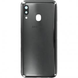 Coque arriere noire originale Samsung Galaxy A20e