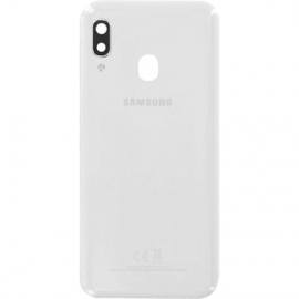 Coque arriere blanche originale Samsung Galaxy A20e