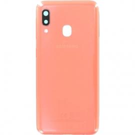 Coque arriere orange originale Samsung Galaxy A20e