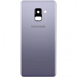Vitre arriere orchidee originale Samsung Galaxy A8 2018