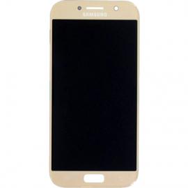 Ecran complet gold pour Galaxy A5 2017