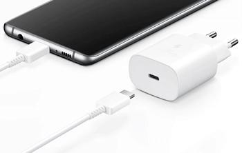 Chargeurs Samsung noir ou blanc USB-C